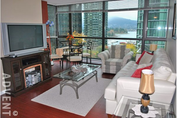 The Lions 1 Bedroom Unfurnished Apartment Rental in Downtown Vancouver. 405 - 1331 Alberni Street, Vancouver, BC, Canada.