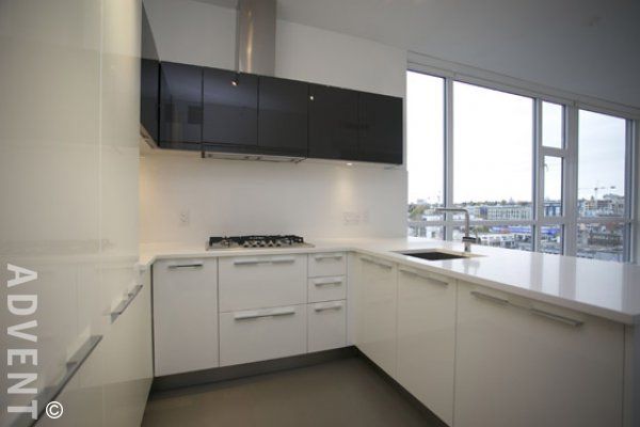 Meccanica 1 Bedroom & Solarium Unfurnished Apartment Rental in Southeast False Creek. 1002 - 108 East 1st Avenue, Vancouver, BC, Canada.