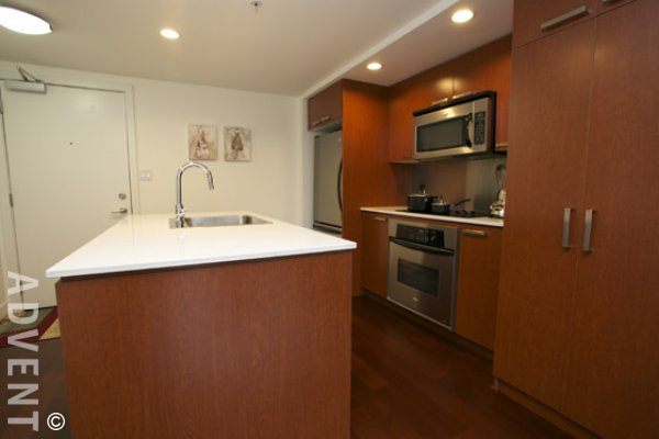 1 Bedroom Unfurnished Apartment Rental at Elan in Downtown Vancouver. 905 - 1255 Seymour Street, Vancouver, BC, Canada.