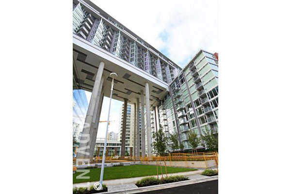 Central 1 Bedroom Unfurnished Luxury Apartment Rental in East Vancouver. 1016 - 1618 Quebec Street, Vancouver, BC, Canada.