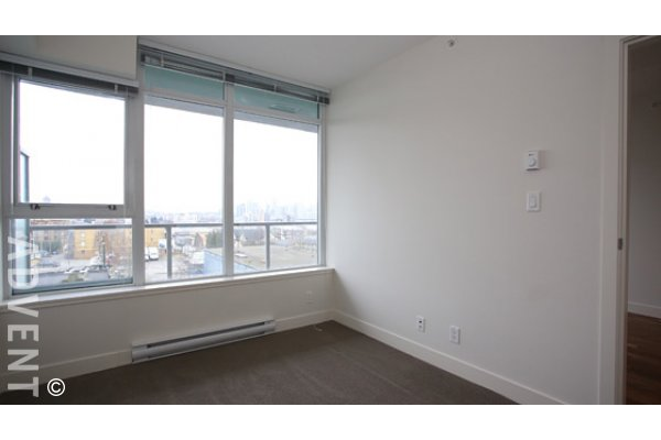1 Bedroom Unfurnished Apartment Rental in East Vancouver at District. 717 - 250 East 6th Avenue, Vancouver, BC, Canada.