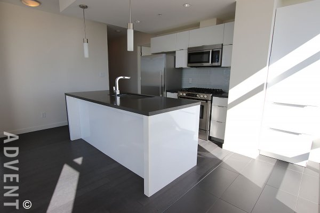 Modern 23rd Floor 2 Bedroom Apartment Rental at Opsal in False Creek, Westside Vancouver. 2306 - 1775 Quebec Street, Vancouver, BC, Canada.
