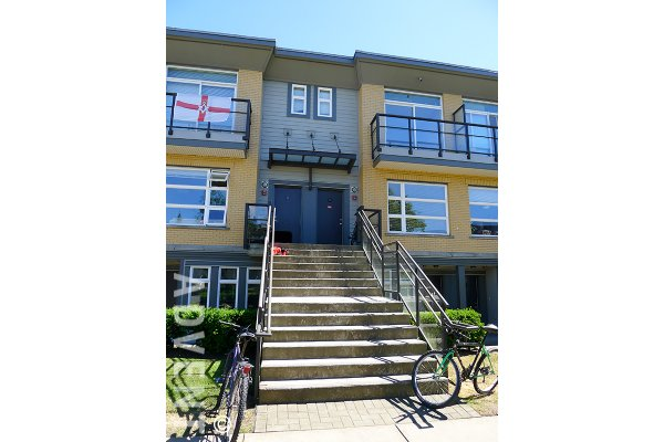 Galleria 2 Level 3 Bedroom Townhouse Rental With 2 Patios at UBC, Westside Vancouver. 203 - 5568 Kings Road, Vancouver, BC, Canada.
