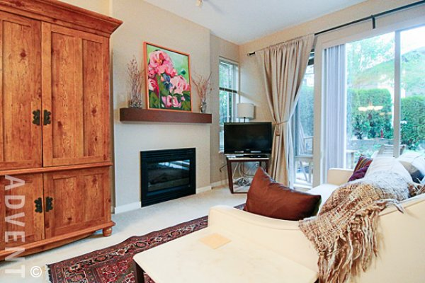 Furnished Luxury 2 Bedroom Townhouse Rental at Simon Fraser University. 93 - 9229 University Crescent, Burnaby, BC, Canada.