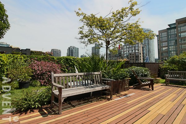 Furnished Studio For Rent at The Hamilton in Yaletown. 302 - 1178 Hamilton Street, Vancouver, BC, Canada.