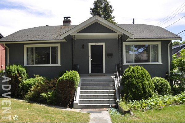 Unfurnished 2 Bedroom House For Rent In Kitsilano On Vancouvers Westside 2140 Waterloo Street
