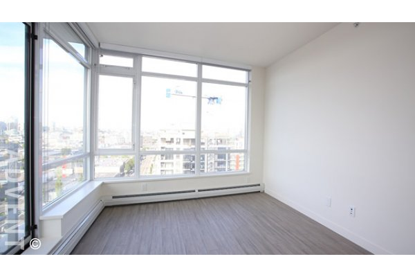 1 Bedroom Unfurnished Apartment Rental at Opsal in Southeast False Creek. 1607 - 1775 Quebec Street, Vancouver, BC, Canada.
