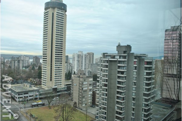 Huge 1 Bedroom Apartment Rental at The Lions in Downtown Vancouver! Converted 2 Bed!. 2002 - 1367 Alberni Street, Vancouver, BC, Canada.