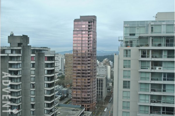 Huge 1 Bed Apartment Rental at The Lions in Downtown Vancouver, 1 Block From Robson!. 2002 - 1367 Alberni Street, Vancouver, BC, Canada.