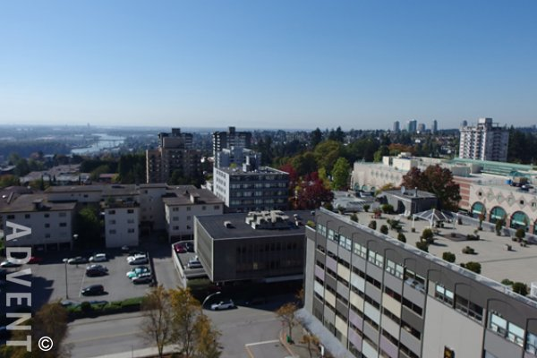 1 Bedroom Apartment For Rent at Viceroy in Uptown New Westminster. 1407 - 608 Belmont Street, New Westminster, BC, Canada.