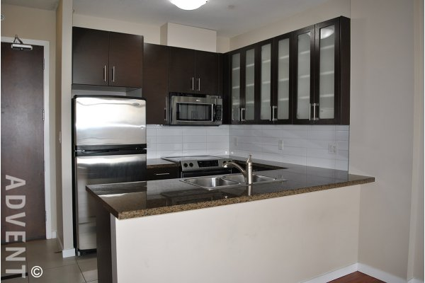 1 Bedroom & Den Unfurnished Apartment Rental at Oma in Brentwood, Burnaby. 1405 - 4250 Dawson Street, Burnaby, BC, Canada.