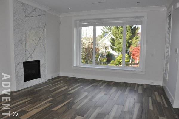 3 Bedroom Luxury Unfurnished House Rental in Cambie Village in Westside Vancouver. 418 West 19th Avenue, Vancouver, BC, Canada.
