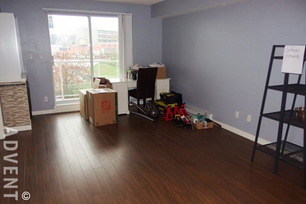 Anvil 1 Bedroom Unfurnished Apartment For Rent in New Westminster. 408 - 200 Keary Street, New Westminster, BC, Canada.