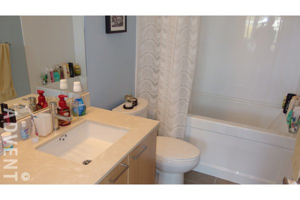 2 Bedroom Unfurnished Apartment For Rent at Oasis in Coquitlam Centre. 2209 - 2955 Atlantic Avenue, Coquitlam, BC, Canada.