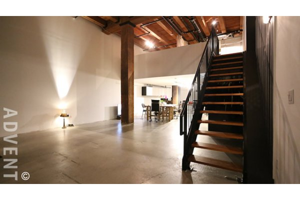 Koret Lofts Live Work Loft Rental 263 Columbia St Vancouver