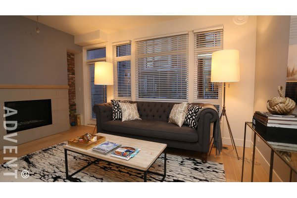2 Bedroom Unfurnished Townhouse For Rent at Avant in East Vancouver. 2973 Wall Street, Vancouver, BC, Canada.