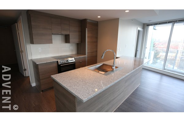 Marine Gateway Modern 2 Bedroom & Balcony Apartment Rental in South Vancouver. 706 - 488 SW Marine Drive, Vancouver, BC, Canada.