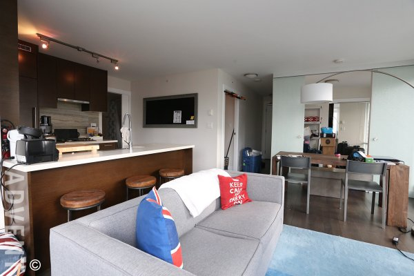 2 Bedroom Unfurnished Apartment For Rent at Dolce in Downtown Vancouver. 1107 - 535 Smithe Street, Vancouver, BC, Canada.