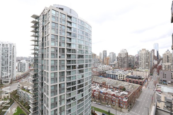 Luxury 2 Bedroom Apartment For Rent With Incredible Views at Nova in Yaletown. 2103 - 989 Beatty Street, Vancouver, BC, Canada.