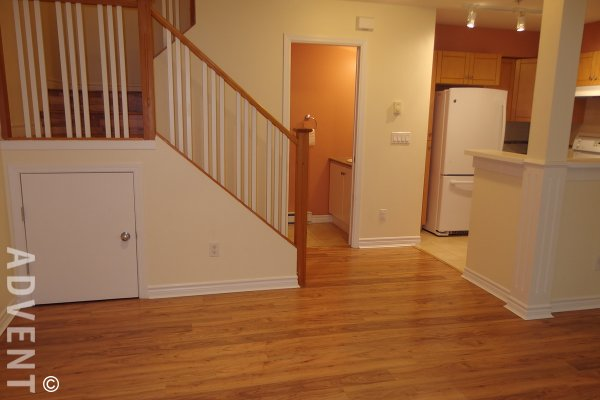 2 Bedroom Unfurnished Townhouse For Rent at Riverstone in Edmonds, Burnaby. 21 - 7128 Stride Avenue, Burnaby, BC, Canada.