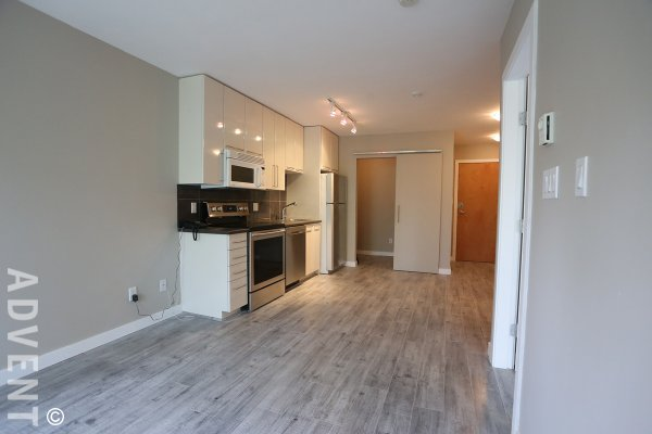 1 Bedroom Unfurnished Apartment Rental at Fusion in Vancouver's West End. 301 - 828 Cardero Street, Vancouver, BC, Canada.