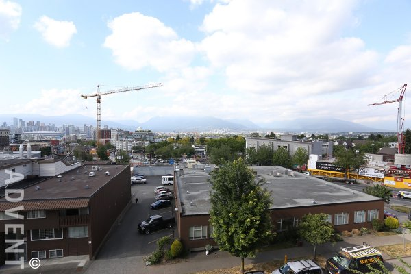 1 Bedroom Unfurnished Apartment For Rent at Sophia in East Vancouver. 506 - 298 East 11th Avenue, Vancouver, BC, Canada.