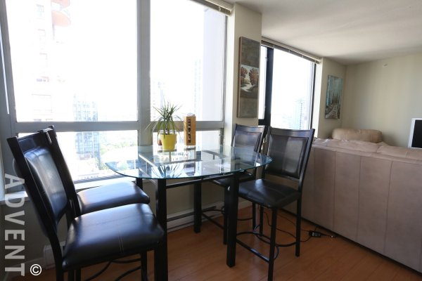 1 Bedroom Unfurnished Apartment For Rent at Oscar in Yaletown. 1804 - 1295 Richards Street, Vancouver, BC, Canada.