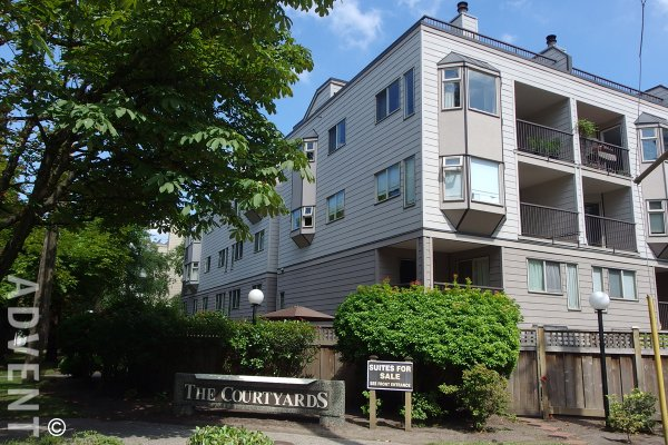 The Courtyards 2 Bedroom Apartment Rental Uptown New Westminster Advent