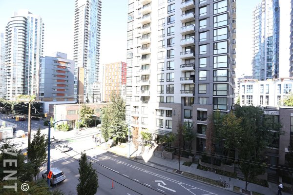 Luxury Unfurnished 2 Bedroom Apartment For Rent at Grace in Yaletown. 602 - 1280 Richards Street, Vancouver, BC, Canada.