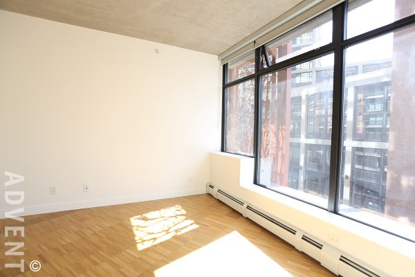 Unfurnished 1 Bedroom Apartment For Rent at Woodwards in Gastown. 709 - 128 West Cordova Street, Vancouver, BC, Canada.
