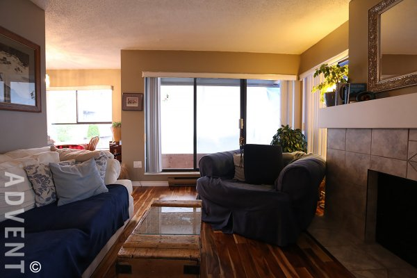 Woodridge Estates Unfurnished 2 Bedroom Apartment For Rent in Richmond. 215 - 7431 Minoru Boulevard, Richmond, BC, Canada.