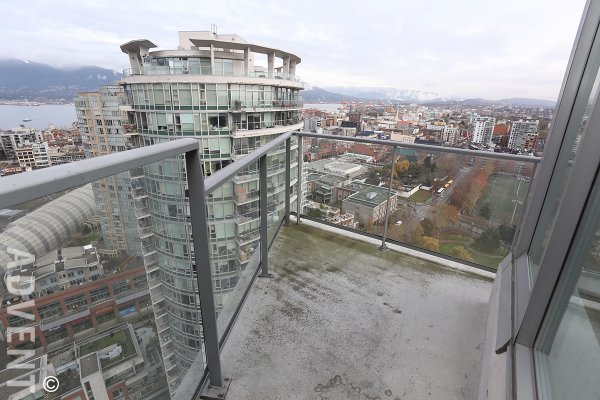 Furnished Luxury Apartment Rental at Firenze in Downtown Vancouver. 2908 - 688 Abbott Street, Vancouver, BC, Canada.
