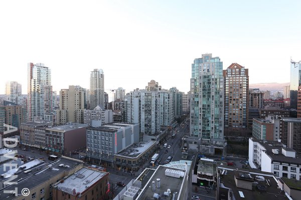 Furnished Luxury Apartment For Rent at Brava in Downtown Vancouver. 1801 - 1199 Seymour Street, Vancouver, BC, Canada.