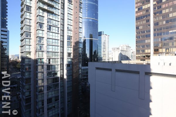 Fully Furnished Apartment Rental at Imperial Tower in Downtown Vancouver. 1206 - 811 Helmcken Street, Vancouver, BC, Canada.