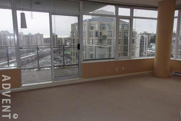 Unfurnished 3 Bedroom Apartment For Rent at Azure 1 in New Westminster. 1708 - 898 Carnarvon Street, New Westminster, BC, Canada.