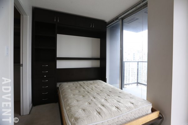 Unfurnished City View Studio For Rent at Brava in Downtown Vancouver. 1807 - 1155 Seymour Street, Vancouver, BC, Canada.