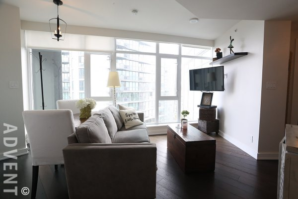 Fully Furnished 1 Bedroom Apartment Rental at The Mark in Yaletown. 1907 - 1372 Seymour Street, Vancouver, BC, Canada.