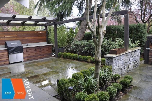 Luxury Unfurnished 2 Bedroom & Loft Half Duplex Rental in Kits Point, Westside Vancouver. 1305 Cypress Street, Vancouver, BC, Canada.