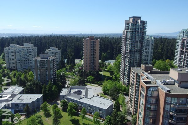 Luxury Unfurnished Apartment For Rent at Modello in Burnaby. 2306 - 4360 Beresford Street, Burnaby, BC, Canada.