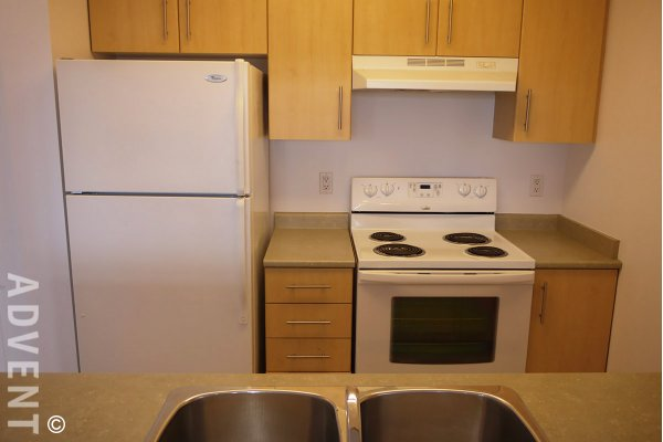 Unfurnished 1 Bedroom Apartment For Rent at Circa in East Vancouver. 1701 - 3660 Vanness Avenue, Vancouver, BC, Canada.