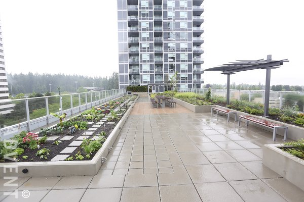 Wall Centre Central Park 7th Floor 1 Bedroom & Flex Apartment Rental in East Vancouver. 755 - 5515 Boundary Road, Vancouver, BC, Canada.