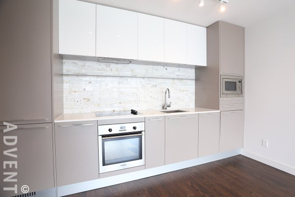 Modern Unfurnished 1 Bed Apartment For Rent at MC2 in Marpole, South Vancouver. 2106 - 8131 Nunavut Lane, Vancouver, BC, Canada.