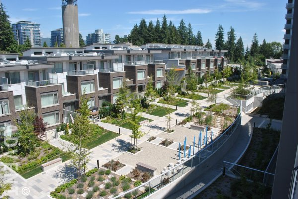Unfurnished 2 Bedroom Apartment For Rent at Centreblock at SFU. 515 - 9393 Tower Road, Burnaby, BC, Canada.
