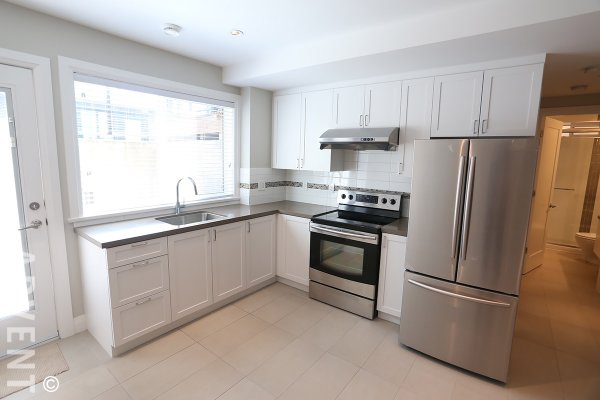 Unfurnished 2 Bedroom Basement Suite For Rent in East Vancouver. 1688 East 56th Avenue, Vancouver, BC, Canada.