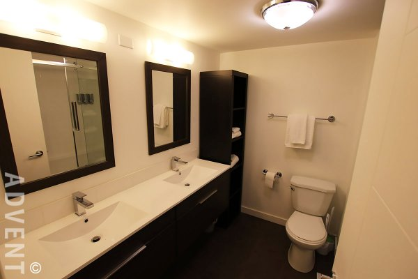 Fully Furnished 2 Bedroom Apartment Rental at Citygate in Vancouver. 401 - 1188 Quebec Street, Vancouver, BC, Canada.
