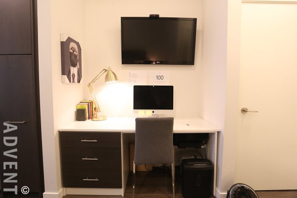 Unfurnished 1 Bedroom Apartment Rental at Canvas in East Vancouver. 106 - 417 Great Northern Way, Vancouver, BC, Canada.