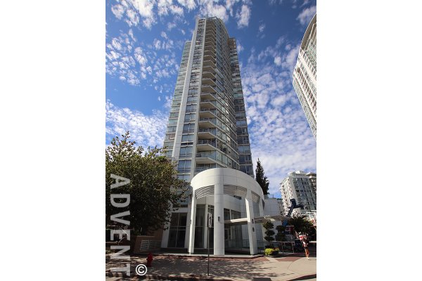 Luxury 2 Bedroom Apartment Rental at Peninsula in Yaletown. 1201 Marinaside Crescent, Vancouver, BC, Canada.