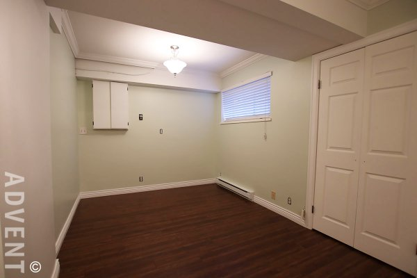 Unfurnished 1 Bedroom Basement Suite Rental in Coquitlam Centre. 3166 Pier Drive, Coquitlam, BC, Canada.