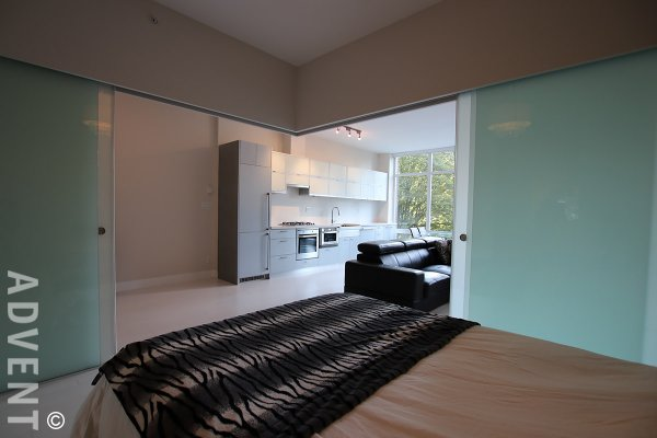 Unfurnished 1 Bedroom Apartment Rental at Dolce in Downtown Vancouver. 203 - 535 Smithe Street, Vancouver, BC, Canada.