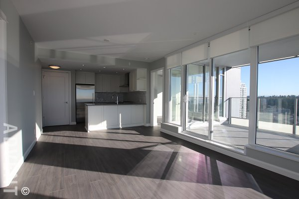 Brand New Unfurnished 2 Bedroom Apartment Rental at Crown in Coquitlam. 2509 - 520 Como Lake Avenue, Coquitlam, BC, Canada.